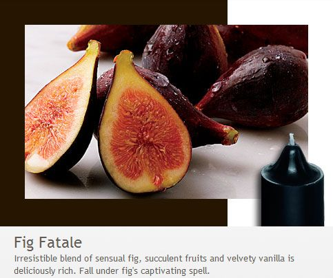Fig Fatale: Fall under fig's captivating spell with this irresistible blend of sensual fig, succulent fruits and velvety vanilla - deliciously rich! From the Forbidden Fruits Collection.
