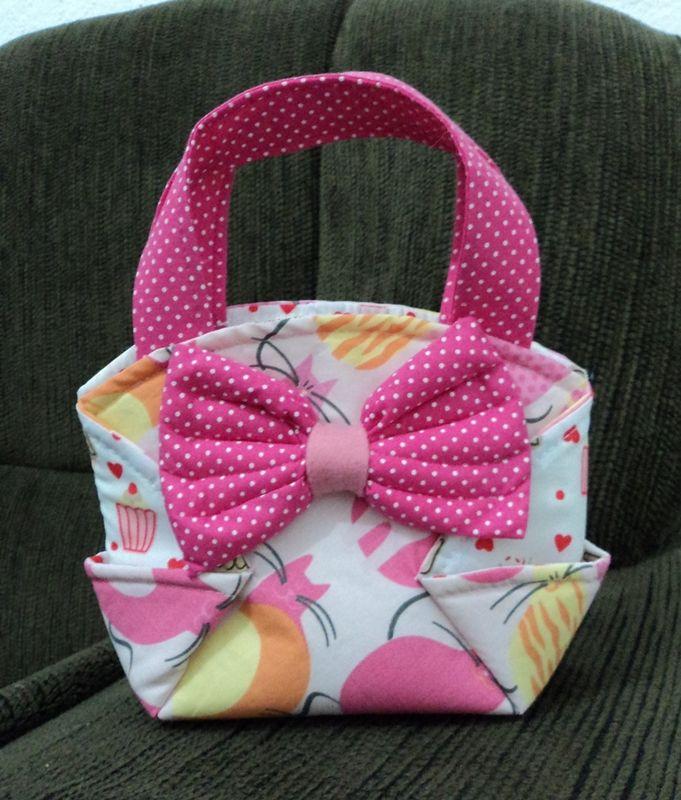 Bolsa Em Tecido Infantil Passo A Passo : Melhores imagens de bolsinhas para meninas no