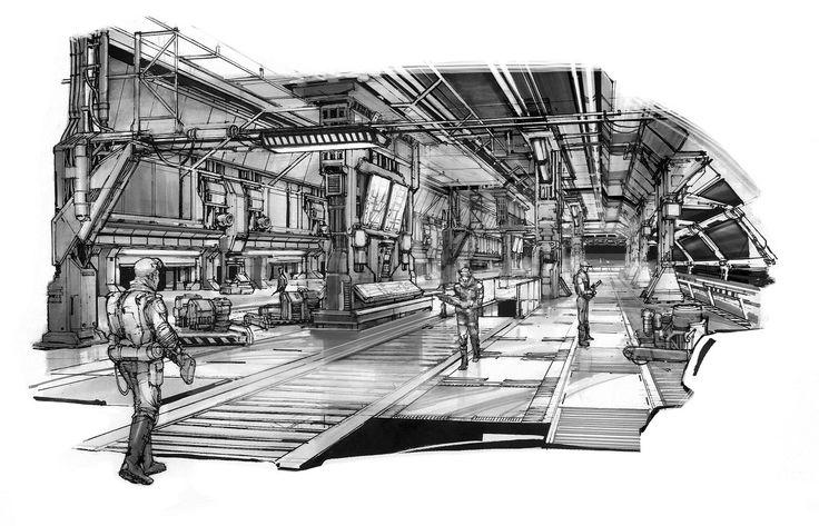 Aliens Crucible (concept art)
