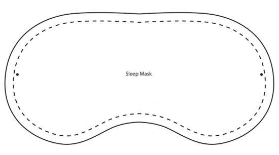 маска для сна выкройка - Поиск в Google