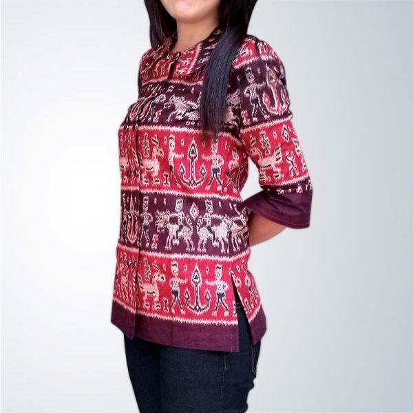 Batik Motif Dayak, dengan Desaign yang lebih berciri khas, motif yang uniik menambah        koleksi batik.