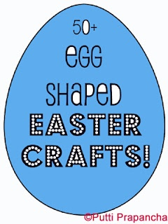 50+ egg shaped Easter crafts: Crafts For Kids, Easter Crafts, Shaped Easter, Kids Crafts, Easter Eggs, 50 Egg, Craft Ideas, Easter Ideas