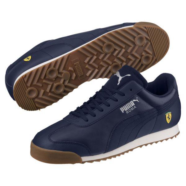 Scuderia Ferrari Roma Men's Sneakers