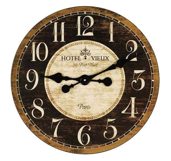 French Country Kitchen Wall Clocks | The Best Home Decor