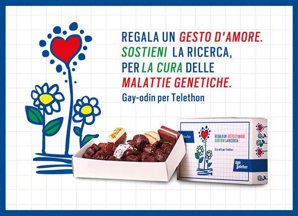 Gay Odin for Telethon // Packaging on Behance