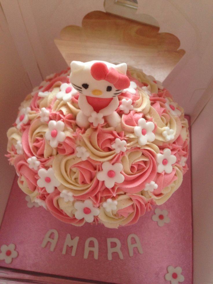 Hello kitty giant cupcake!