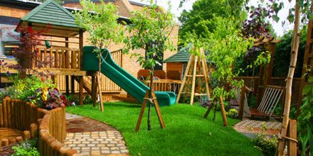 Somerset Nursery School Playground Design