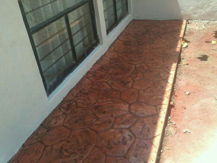 Las 25 mejores ideas sobre concreto estampado en pinterest Cemento estampado precio