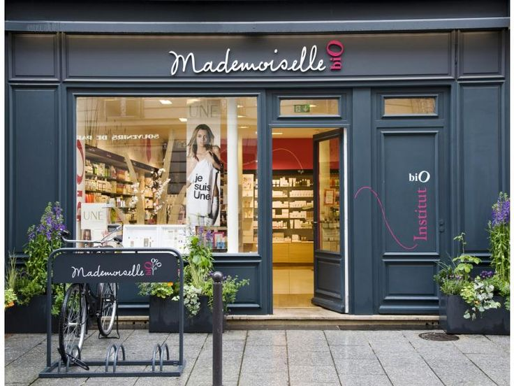 MADEMOISELLE BIO is a cosmetic shop completely stocked with organic beauty products. #organicbeauty