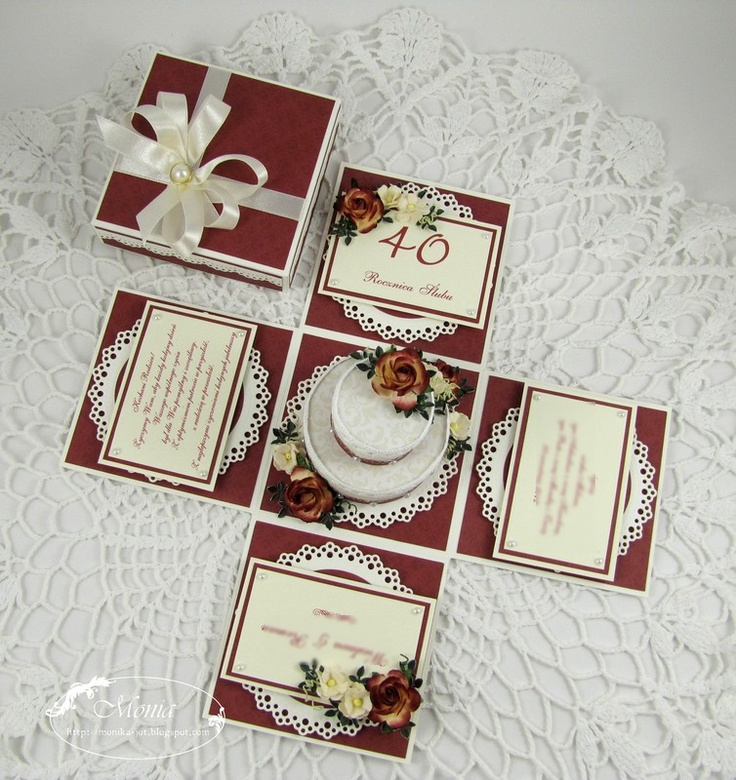 my paper land: Box for wedding anniversary