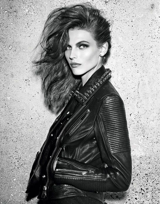 Vogue Paris models of the month: August 2013, Kate Moss, Daria Werbowy, Edie Campbell, London, Brighton, Camden, punk, rock, Georgia May Jagger, Karmen Pedaru, Catherine McNeil, Anja Rubik.