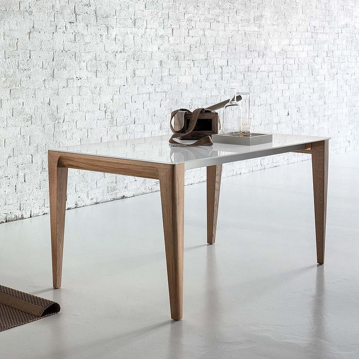 Fixed or extendable wooden dining table Mirage by Sedit