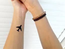 Картинки по запросу тату на запястье самолет