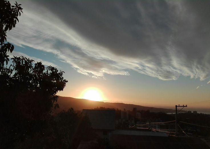 Atardecer,Valparaiso,Chile