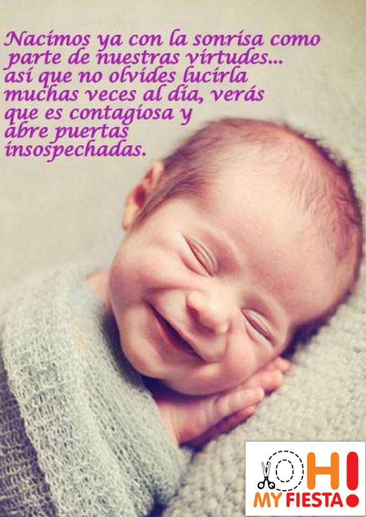 La sonrisa es contagiosa.