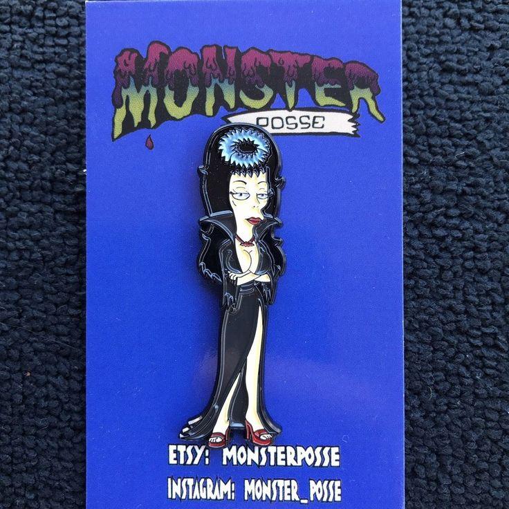 The simpsons Boobarella mistress of the dark Halloween Elvira