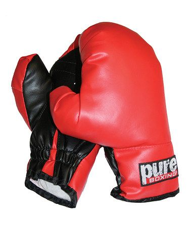 Love this Youth Boxing Gloves on #zulily! #zulilyfinds