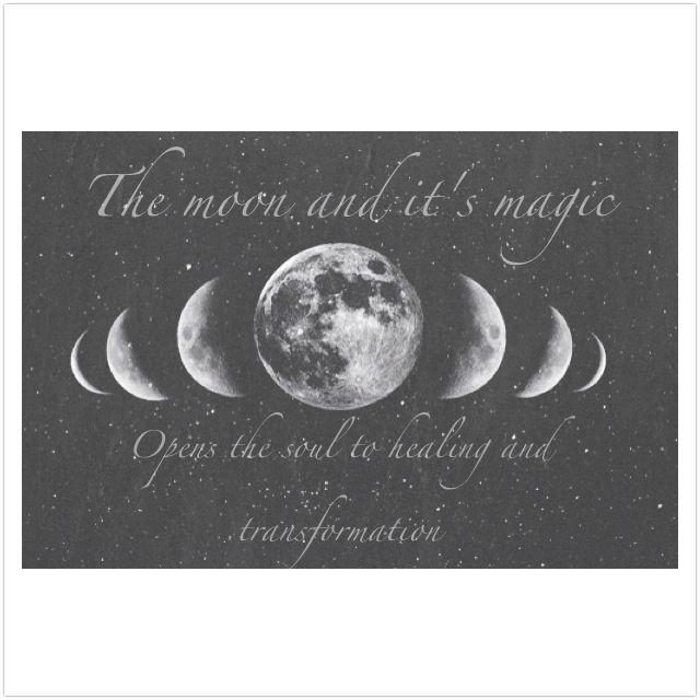 Mother Moon's healing qualities