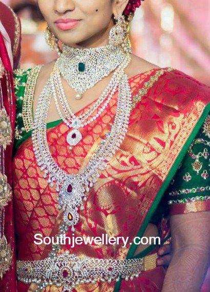 hyderabad_bride_in_diamond_jewellery