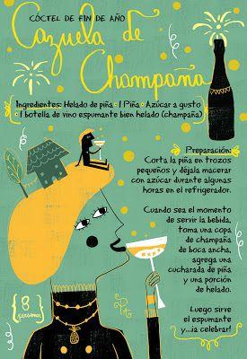cazuela de champagne