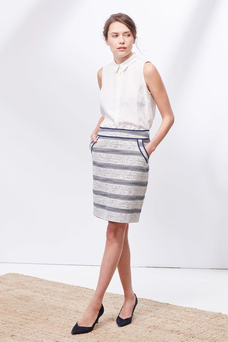 Minifalda jacquard | Faldas | Cortefiel