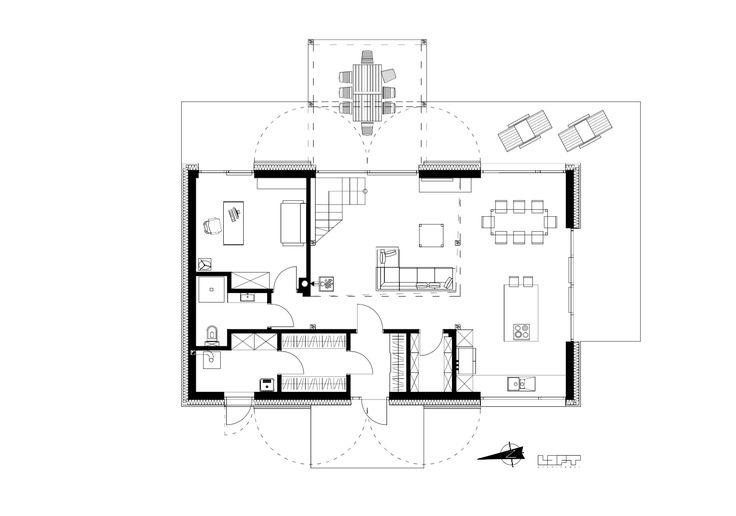 Odzyskana stodoła w Szumlinie / LOFT architekci – nowoczesna STODOŁA | wnętrza & DESIGN | projekty DOMÓW | dom STODOŁA