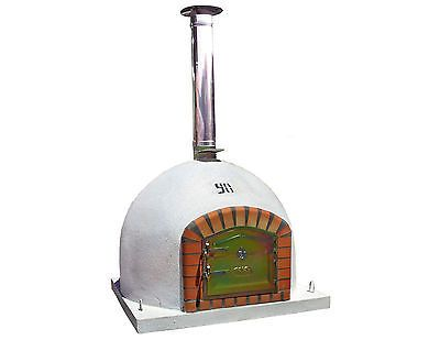outdoor wood fired Pizza oven 100cm x 100cm  with 100cm chimney