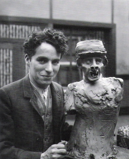 "Can we just mention how absolutely beautiful Charlie Chaplin is? (And I do mean ""is,"" for fantastic actors never really die. Rather, they seem to nest themselves inside one's heart, specifically: mine.)"