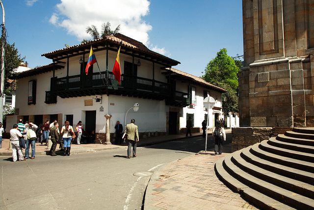 COLOMBIA | MUSEO 20 DE JULIO BOGOTA / O MUSEO CASA DEL FLORERO, EN EL CENTRO HISTORICO DE BOGOTA