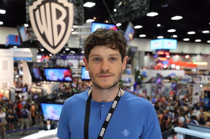 The bastard of Bolton. @iwanrheon at the @wbpictures booth at #SDCC. #GoTSDCC #WBSDCC