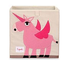 image of 3 Sprouts Unicorn Storage Box