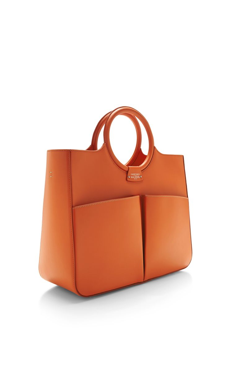 Fairchild Baldwin Victoria Bag In Orange