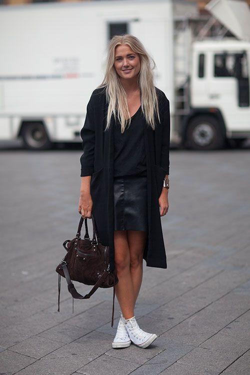 Street Style Copenhagen Fashion Week fall 2015 - Copenhagen Street Style - Harper's BAZAAR #streetstyle #bijoux