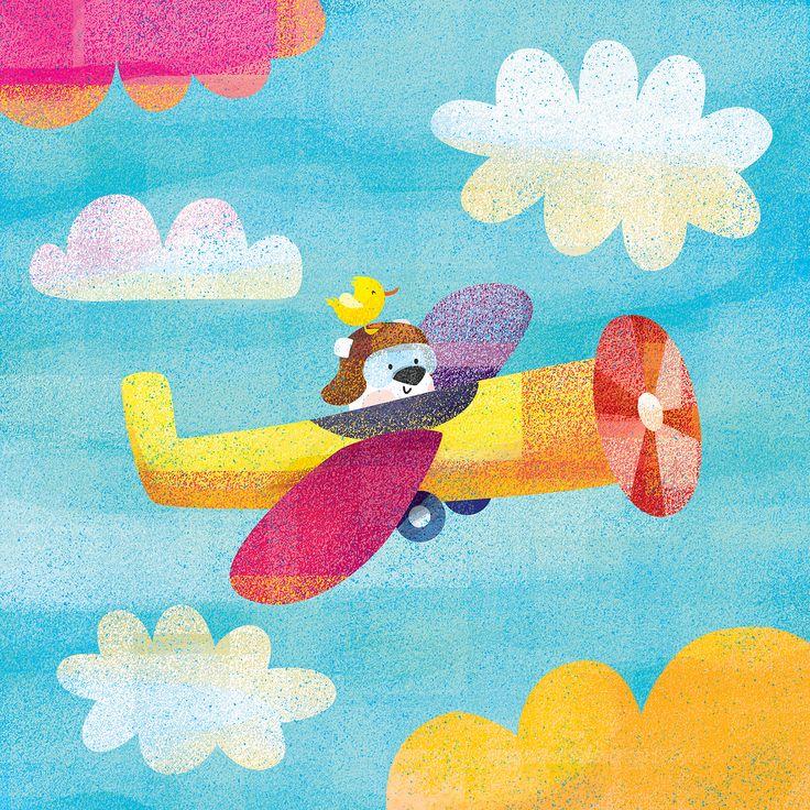 """Popatrz na ten projekt w @Behance: """"Let's fly!"""" https://www.behance.net/gallery/51975301/Lets-fly"""