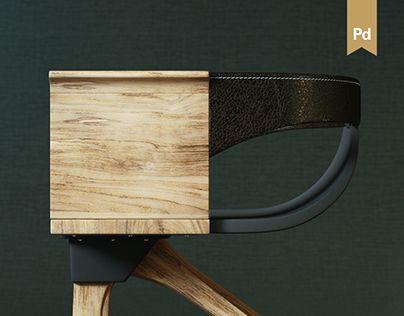 slice series wood furniture chaise tabouret pinterest tabouret et chaises. Black Bedroom Furniture Sets. Home Design Ideas