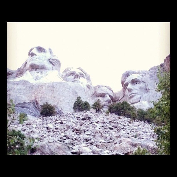 Cross Country Day 8 - Mount Rushmore, South Dakota. They had a great light show and patriotic presentation at night (pictures came out fuzzy though)    www.SteveScottSite.com     #trip #travel #vacation #mountrushmoreVacations Mountrushmore