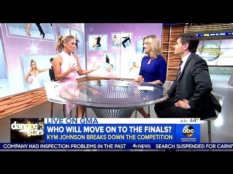 Kym Johnson - Her Predictions  Who Will Move On To #DWTS 22 Finals