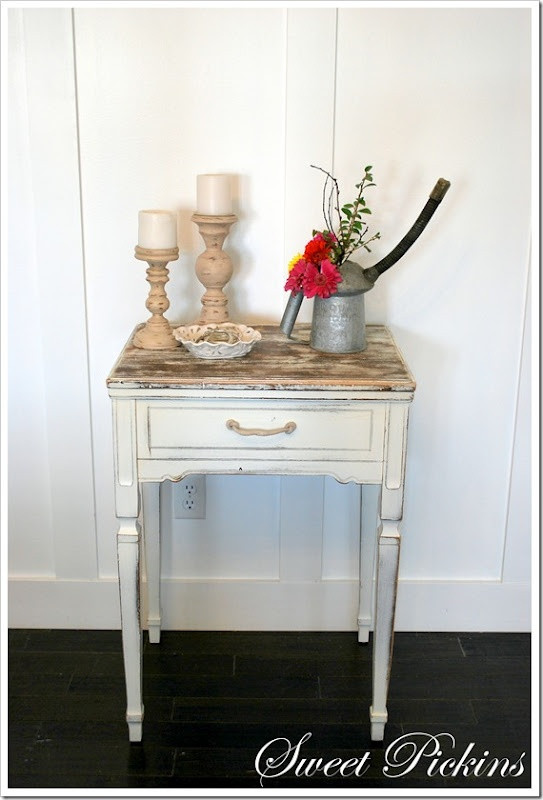 Sewing Table Re-do.  I have this exact sewing table...hummmm....