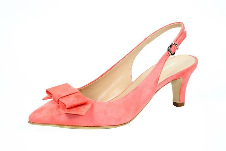 Woman Fashion Shoes Made In Italy, chanel in suadè rosa con fiocco in punta
