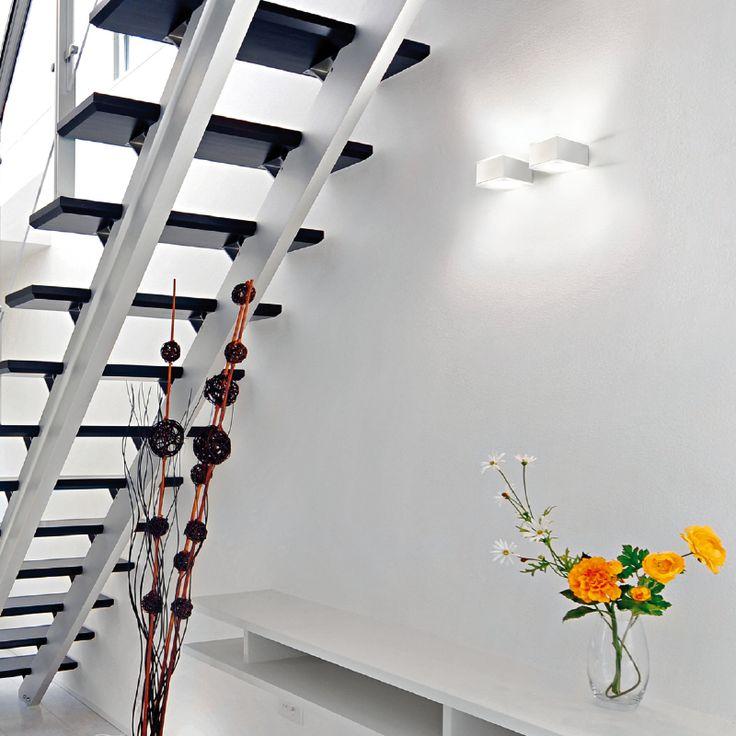 ALCOR - Single/ double emission wall spotlight, ideal for the lighting of corridors, entrances, arcades. #LED #light_e_design #design #illumination #lamp #lightdesign #outdoor #lighting #lamp #pendant #iluminacion #decor #home #decoracion #lampara