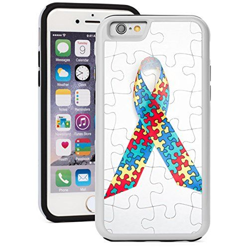 Apple iPhone 6 6s Shockproof Impact Hard Soft Case Cover Puzzle Autism Awareness Ribbon (White) Apple iPhone 6 6s Shockproof Impact Hard Soft Case Cover Puzzle Autism Awareness RibbonDual layer, 2 piece case.High quality hard plastic outer shell ...  #6s #Apple #Autism #AutismAwareness #AutismHour #AutismInMyLife #AutismParents #AutismTMI #Autistic #Awareness #Case #Cover #Hard #Impact #iPhone #Puzzle #RIBBON #Shockproof #Soft #White