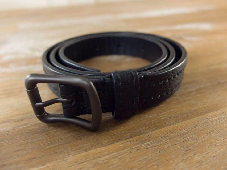 auth BOTTEGA VENETA black leather belt - Size 75 (fits size 28 waist best) -NWOT   Clothing, Shoes & Accessories, Women's Accessories, Belts   eBay!