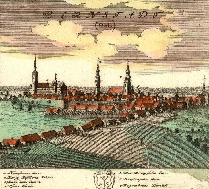 Bierutów (Bernstadt) - Rok 1737