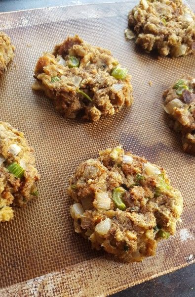 Vegan Stuffing Cakes (Addicting even it if's not Thanksgiving!) | The Blooming Platter of Vegan Recipes