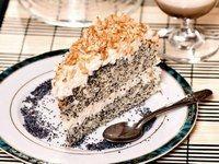 Ciasto makowe z kokosem - świąteczne ciasta - Świąteczne ciasta - 14 ORYGINALNYCH PRZEPISÓW na ciasta i desery