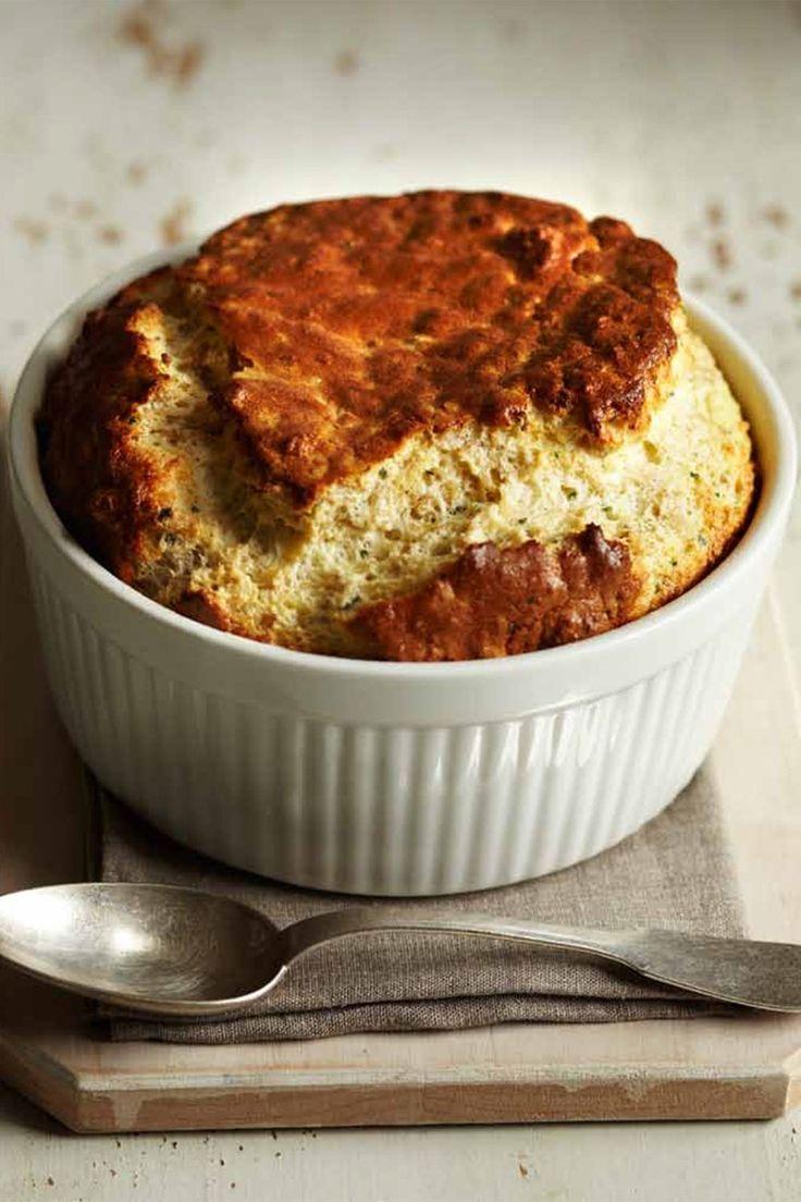 Savory Oatmeal Breakfast Soufflé | http://saltandwind.com