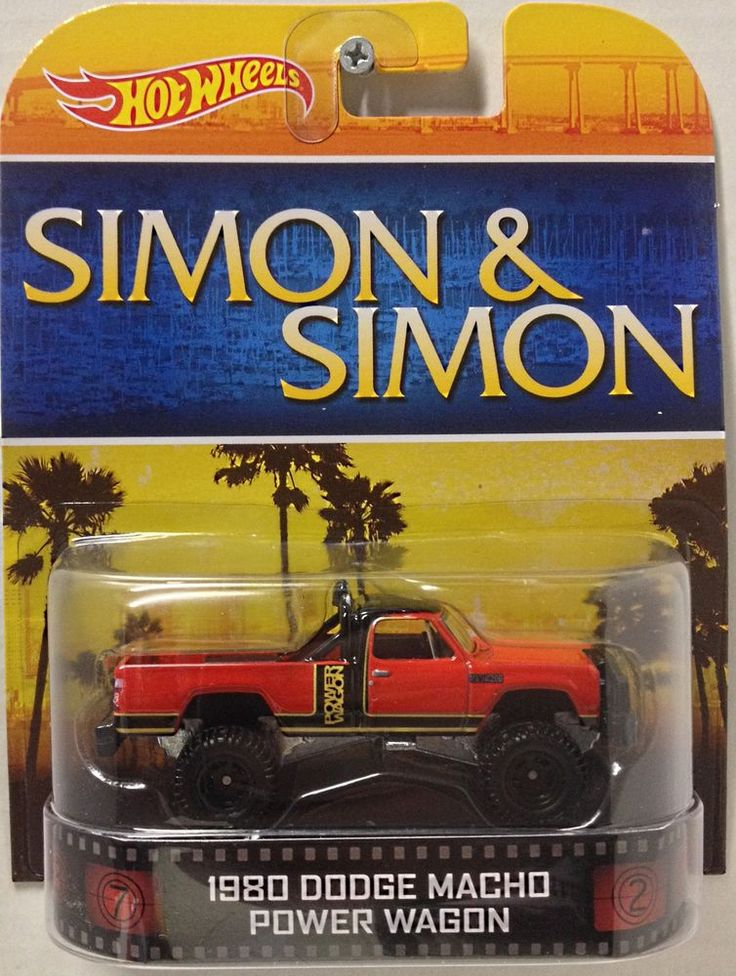 2014 Hot Wheels Retro Entertainment Macho Power Wagon Simon & Simon
