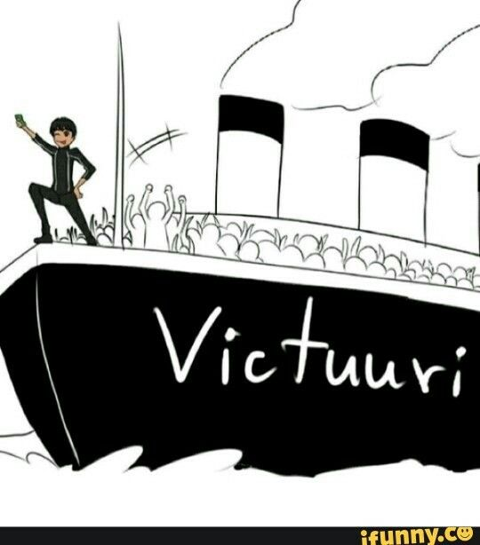 He is literally the biggest victuuri shipper>>>Haha u see that person in the front w/ their hands up...That's me