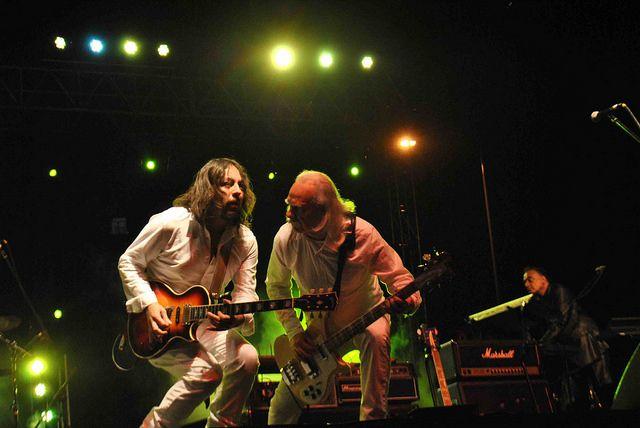 Alan Reale y Mario Mutis