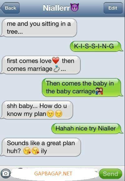 Hilarious Emoji Conversation About Love